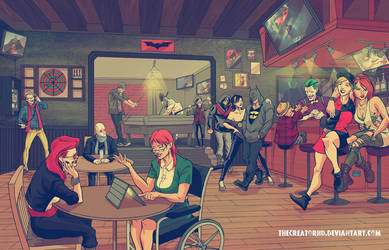 Hipster Batman by thecreatorhd