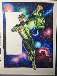 Kyle Rayner Green Lantern Commission by thecreatorhd