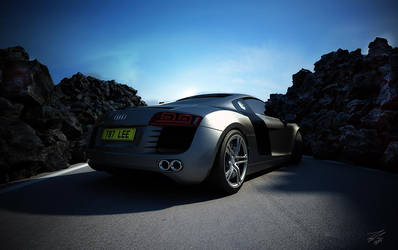 Audi R8 Rear by ColdFusion20
