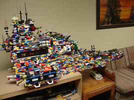 Lego Ship Strength Test by best360