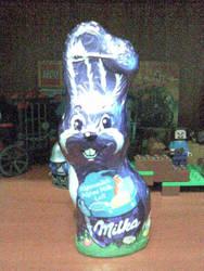 Milka bunny by Chakat-Northspring