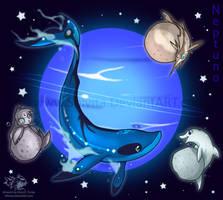 Animal Planet: Neptune by Shivita