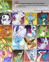 Pokemon Type Meme by Shivita
