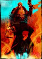 Hellboy 4 by uwedewitt