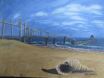 Calm Beach by Digg409
