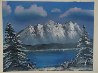 Winter Mountain Landscape by Digg409