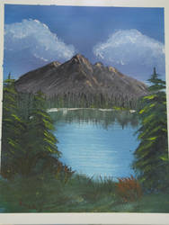 Summer Mountain Landscape by Digg409