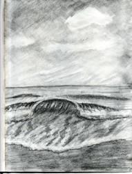Beach Sketch by Digg409
