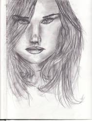 Portrait Sketch by Digg409
