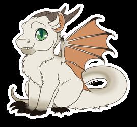 Cute Dragon Earthsong by DarkoDraco