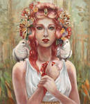 Becoming Persephone by Reynaile