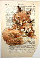 A Page on Fox Love by WeileAsh