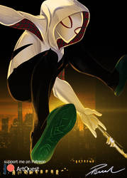 SpiderGwen sm by ForkysAnime