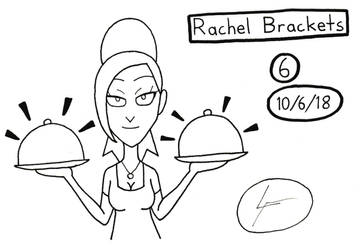 Inktober 2018 #6- Rachel Brackets by DrawingGenius