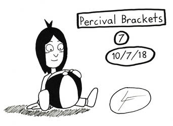Inktober 2018 #7- Percival Brackets by DrawingGenius