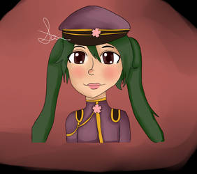 Hatsune Miku: Senbonzakura by half-fox-demon1020