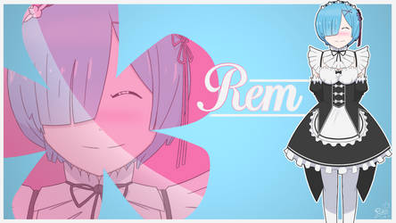 Chill Rem Wallpaper by Da-Ruka