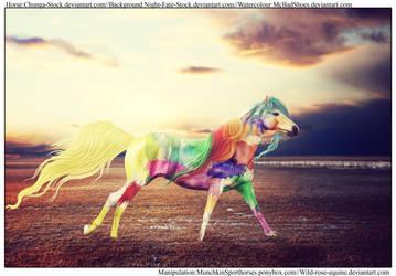 Splash of Colour by Wild-Rose-Equine