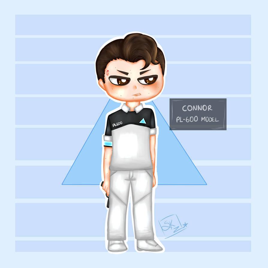 [ DBH ] PL600 Connor by Sukzu-Chan