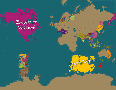 Midgard Political Map 3e 1 Old Version By Tomme23 On Deviantart