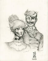 pride and predudice and zombies by ToolKitten