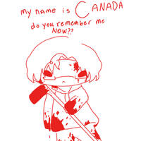 My name is CANADA, remember it by gaaragirl654321