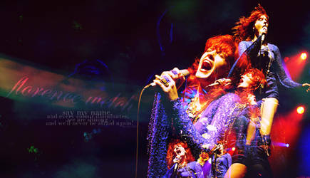 wallpaper Florence Welch Florence and the machine by cye-x
