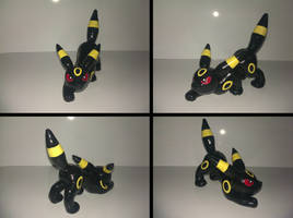 Umbreon Sculpture Multi View by Sara121089