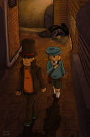 Hershel and Luke In The Alley by Neonyal