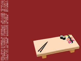 Sushi Desktop by jenniev