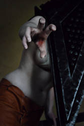 Silent Hill: Pyramid Head - Grasping by aggestardust