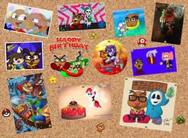 Gaijin Goombah Birthday Collab by Obsessor23