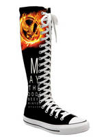 hunger games converse by mannepussie