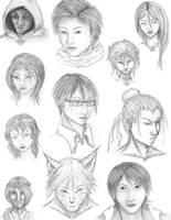 sketch dump by changanghua