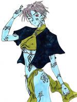 blue-girl by changanghua
