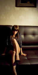 picture,girl,sofa by AliceDjaiv