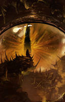Awakening the Mega Therion by PaschalisLP