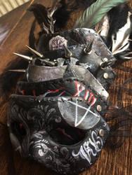 Dead XIII Masks  by NikkiSixxIsALegend