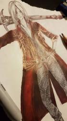 Dante Jacket detailing by NikkiSixxIsALegend