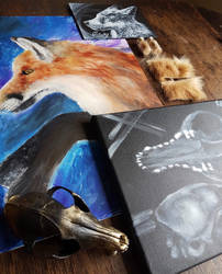 Red Fox Bundle by NikkiSixxIsALegend