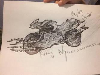 Dante's Cavalier sketch by NikkiSixxIsALegend
