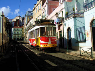 Tram by JulieEarnshaw