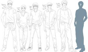 C.O.D.E. - Character design by Bayou-Kun
