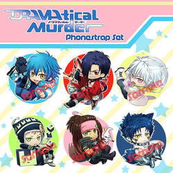 DMMD chibi phonestrap set by Bayou-Kun
