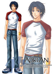 The Nine-Lives Char 02:Adrian by Bayou-Kun