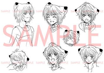 TNL_Expression chart : Conri by Bayou-Kun