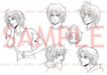 TNL_Expression chart : Adrian by Bayou-Kun