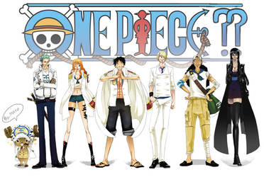 One Piece marine version by ChirashiMaro