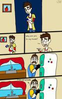 Hello Neighbor funny comic by Jacks-Shacks