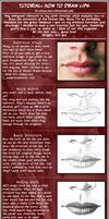 Tutorials: How to draw lips by Cataclysm-X